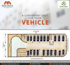 Dream Homes minimize the struggle of parking your car safely.  Project : Dream Homes Plot 2C,Lane 3,Bukhari Commercial Phase-VI, DHA Karachi. Mobile: +92-3002214930 http://motiwalaestate.com/dream-homes/  #Motiwalaestate #RealEstate #HomesForSale #DreamHomes