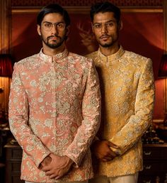 #Sabyasachi Couture #FIRDAUS #Menswear #HeritageWeddings #DestinationWeddings #HandCraftedInIndia #TheWorldOfSabyasachi @groomsofsabyasachi