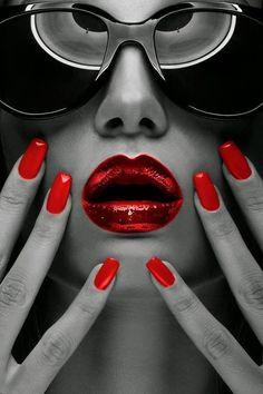 Image result for lip splash black and white
