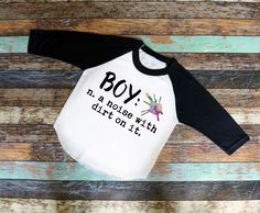Boy Definition Raglan or T-Shirt