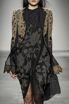 Rahul Mishra Fashion Show Ready To Wear Collection Fall Winter 2016 in Paris