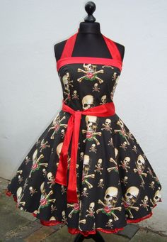 Petticoat,50er,Rockabilly,Pinup,Punk,Kleid,Dress