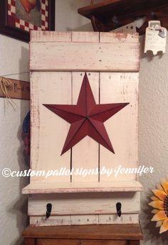 Pallet Crafts, Pallet Art, Pallet Signs, Wooden Crafts, Mason Jar Candles, Home Decor, Wood Crafts, Decoration Home, Room Decor
