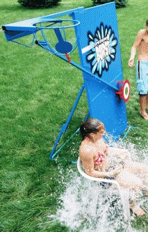 The Pitch Burst Water game is a great alternative to a dunk tank! Take aim and drench your victim for some Big, Wet Outdoor Fun!! http://www.carnivallady.com/products-services/pitch-burst-water-dunk-booth/