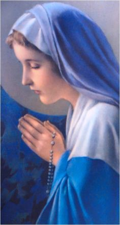 Blessed Virgin Mary La Virgen María tiene el manto que inspiró al creador de la bandera Argentina, don Manuel Belgrano