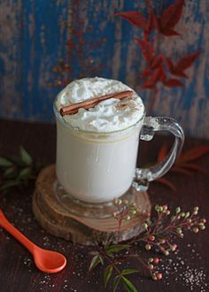 Slow Cooker Pumpkin Spice White Hot Chocolate Rich, sweet, and full of pumpkin deliciousness, this special white hot chocolate drink brews up to perfection right in your Crock Pot. Author: Kitchen Treaty Recipe type: Beverage Yield: 4 cups