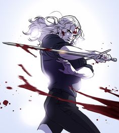 """luxferens: """" Love the fight scene in """" The Witcher Game, The Witcher Geralt, The Witcher Books, Witcher Art, Fantasy Character Design, Character Inspiration, Character Art, Witcher Wallpaper, Anime Fight"""
