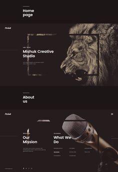 Mishuk - Creative Studio on Behance