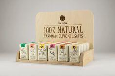 Packed Design - Referências de Design de Embalagens: Helleo - Natural soaps…