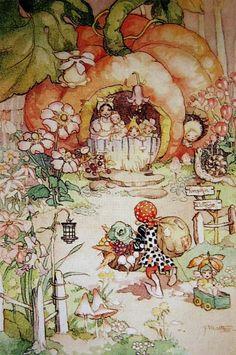 Peg Maltby - pixies | * Design: Children's Narrative Illustrations ...