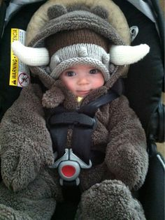 The most adorable little viking…