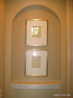 Wall Niche Decor decorating in a niche can be a difficult task. try not to make it