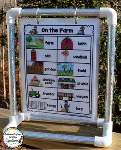 Display portable word walls on a mini anchor chart stand. This tabletop stand is great for a center! Classroom Setting, Kindergarten Classroom, Future Classroom, Montessori Elementary, Anchor Chart Display, Anchor Charts, Portable Word Walls, Classroom Organization, Classroom Ideas
