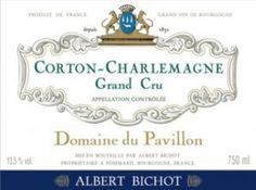 Corton-Charlemagne grand cru Domaine du Pavillon Albert Bichot 2008