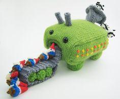 O Blog da DMC: Entrevista a Anna de Mochi Mochi: Um mundo de fantasia tricotado