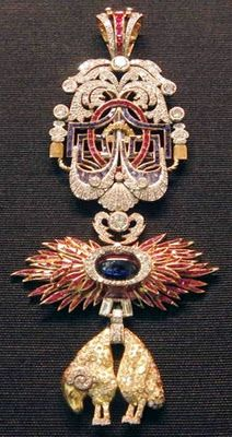 Order of the Golden Fleece (Spanish) - Sovereign's (great) Insignia worn by the Kings of Spain