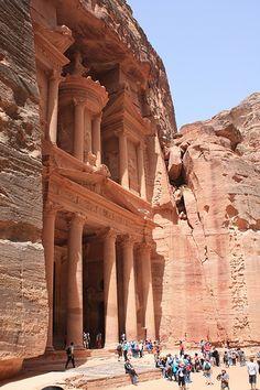 The Treasury -Petra, Jordan