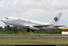 Trigana Air Service, Boeing 737-217(A), Banjarmasin - Syamsudin Noor (BDJ - WAOO) Indonesia, April 09, 2013 by Roberto Prawiro