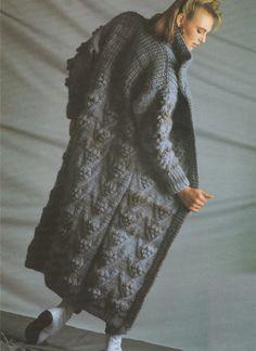 PDF Download Pattern Oversized Knitted Womens Ladies HONEYBEE Raglan Everyday Cardigan Jacket Coat