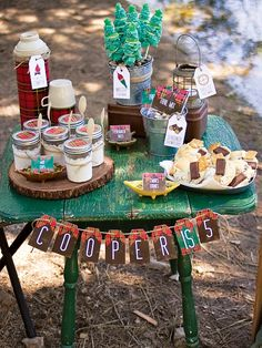 Plaid & Pine Outdoorsman Party {Camping Theme}