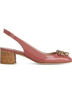 LK BENNETT Elvira patent slingback courts Lk Bennett, Heels, Stuff To Buy, Shopping, Women, Fashion, Moda, Women's, Shoes Heels