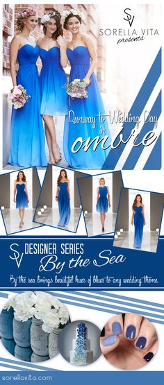 Sorella Vita Designer Series: Ombre #bridesmaiddress available at I Do Bridal Galena