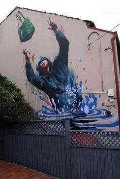 Artist: Fintan Magee in Sydney