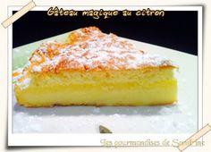 Le gâteau MAGIQUE En une seule préparation on obtient 3 gâteaux en 3 couches différentes : un flan, un crémeux et une génoise !!