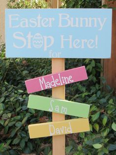 Easter Ship Today Easter Bunny Stop Here by DaisyBlossomCreation