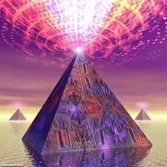INCREDIBLE HEALING POWER OF THE PYRAMIDS: Energy of the Pyramid Healing Victim of Cancer