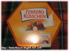 ドイツお土産 FERRERO ヘーゼルナッツ入りチョコレート