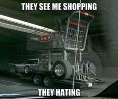They see me shopping. They hating. #FridayFunny #EdenMeanderLifestyleCentre