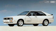 Audi quattro da década de 80, um modelo bastante esportivo. #Audi #AudiLovers #Love #AudiAutomovel #AudiCenterBH #Car #AudicenterBH #Auto