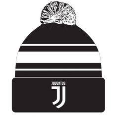 be505d9add9 Juventus F.C. - bobble style knitted hat - adults one size fits all -  embroidered crest