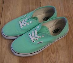 Vans Off The Wall Seafoam Green Skate Shoes Sneakers Authentic Canvas Kids 4 in Clothing, Shoes & Accessories, Kids' Clothing, Shoes & Accs, Unisex Shoes   eBay