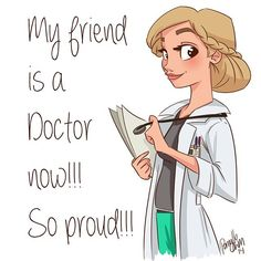 One of my besties had her final today and is now a doctor! I' Medical Drawings, Bff Drawings, Cartoon Drawings, Character Sketches, Female Character Design, Girl Cartoon, Cartoon Art, Engineer Cartoon, Doctor Drawing
