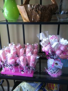 Marshmallow and princess pops