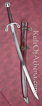 the Warder - inspired by Robert Jordan's Wheel of Time series. Love this sword - cuts beautifully.