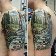 02 Best Landscape Tattoo