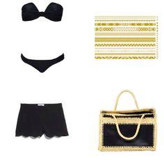 #summeriscoming #swimwear #fashion#plage