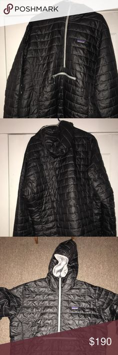 Men's XXL black nano puff Patagonia jacket BRAND NEW with tags. Originally $220. Patagonia Jackets & Coats Puffers