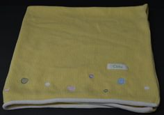 Dota Baby Security Blanket Yellow Dots Knitted Cotton Manhattan Toy London 35x33 #ManhattanToy http://stores.ebay.com/Lost-Loves-Toy-Chest/_i.html?image2.x=23&image2.y=9&_nkw=baby+blanket