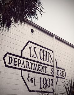 T.S. Chu's Department Store in Savannah, Georgia.
