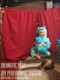Adventures at home with Mum: DIY Dramatic Play Theatre