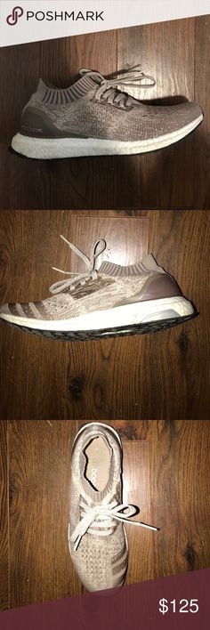 Uncaged beige Ultra boosts Size 9.5 ultra boosts uncaged adidas Shoes Sneakers