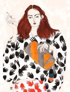 Sonia - Jeremy Combot Illustration