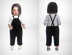 Toddler dress The sims 4 Toddler Cc Sims 4, Sims 4 Toddler Clothes, Sims 4 Cc Kids Clothing, Sims 4 Mods Clothes, Toddler Girl Outfits, Toddler Fashion, Kids Outfits, Baby Outfits, Kids Fashion
