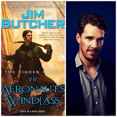 Tell me that Jim Butcher's new character, Captain Grimm doesn't look like Cumberbatch! Benedict Captaingrimmbatch. It cannot be undone now. He even has a scarf!