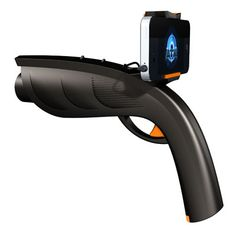 The Xappr Gun  is a gaming peripheral for smartphones. Connect your smartphone to the XAPPR and play various Augmented Reality and Shooting Games