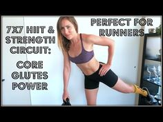 700 Calorie 7X7 Power, Core + Glute Circuit for runners - YouTube